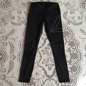 Reebok Active Leggings with Sheer Accents